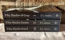FIFTY 50 SHADES OF GREY, DARKER, FREED Paperback Books 1-3 Trilogy FREE SHIPPING