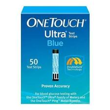 3 x 50 OneTouch Ultra Blue Diabetic Test Strips (150 Total)