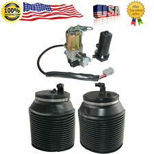 Air Suspension Compressor & Springs For Toyota 4Runner Lexus GX460 2010-2018 3pc