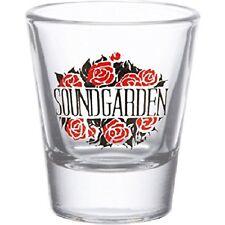 SOUNDGARDEN roses SHOT GLASS chris cornell / audioslave EX-TOUR MERCHANDISE