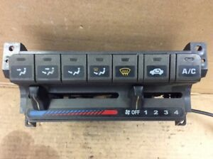 94-01 Integra Climate Control Heater A/C Air Conditioning Analog Selector OEM