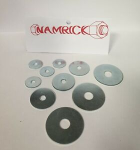 PENNY WASHERS, MUDGUARD WASHERS, REPAIR WASHERS BZP