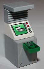 LeGo Light Bluish Gray ATM Minifig Utensil Cash Machine NEW