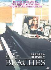 Beaches 1988 DVD Bette Midler Barbara Hershey BRAND NEW SEALED