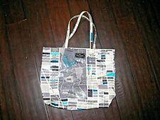 Rare New York City Map KATE SPADE Daycation Bon Shopper Bag Tote Purse