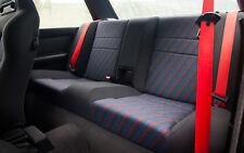 BMW E30  RED SEAT BELTS SPORT S14 S50 M Power M Technik and All BMW e30 e36 e46