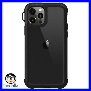 SWITCHEASY Explorer heavy duty protection case for iPhone 12 Pro Max - Black