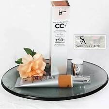 New It CC+ COLOR CORRECTING FULL COVERAGE CREAM Anti-Aging Hydrating Serum 1.80