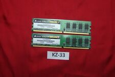 2x2gb Corsair VS2GB800D2 2GB  DDR2 SDRAM, 667 MHz Valueselect