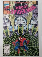 WEB OF SPIDER-MAN #98 (1993) MARVEL COMICS 2ND APPEARANCE OF NIGHTWATCH! MOVIE!