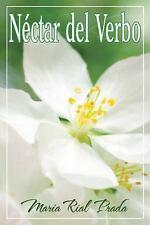 Néctar Del Verbo by Maria Rial Prada (2017, Paperback)