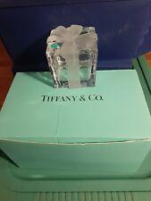Tiffany co glass or Crystal jewelry box