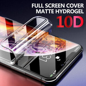 10D Matte Hydrogel Full Coverage Screen Protector Flex Film For Smart Cellphones
