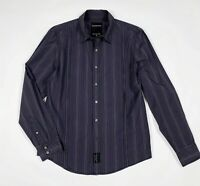 Calvin klein jeans camicia uomo usato M a righe shirts man used luxury T6122