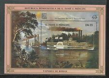 St.Thomas And Prince Islands Souvenir Sheet #760 (Nh) From 1984