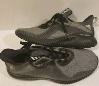 ADIDAS ALPHABOUNCE SNEAKERS GREY/BLACK-HPC AMS DA9561-SHOES-MENS SIZE 8.5 US-NEW