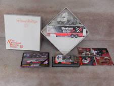 Winross Darrell Waltrip 17~Amer.Racing #10 Transporter~Trading &Post Cards~1:43