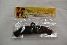 FREDDIE FOR A DAY CLIP-ON REPLICA MOUSTACHE NEW BAGGED OFFICIAL MERCURY QUEEN