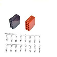Montageset ISO Stecker Set Lautsprecher+ Strom Autoradio KFZ HI FI Junior
