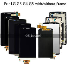 LG G3 G4 G5 Touch Digitizer LCD Display Screen Assembly Frame Replacement New