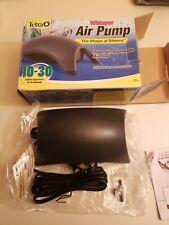 Tetra Whisper Air Pump 77856 10-30 gallon New Open Box
