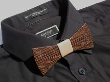"""NYTies"" Wooden Bow Tie HandMade Men's Gift Fashion Wedding"