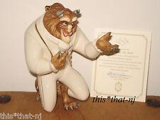Lenox Disney Beauty and the Beast My Hand My Heart Beast Figurine New in Box