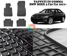 BMW SERIE 3 F30 F31 2011+ TAPPETINI AUTO IN GOMMA - TAPPETI TOP QUALITA -1-