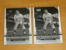 2004 Upper Deck The Wingfield Collection Mickey Mantle #2 Lot of 2