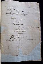 1873 Original Autograph Manuscript Playwright - Nobel Literature Zarco da Câmara