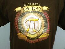 TeeFURY Brown XL T-Shirt Live Ultimate Pi Day Cotton