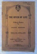 THE RIVER OF LIFE by Vincent Standish (John Blackburn PB) vocal score, 1920's