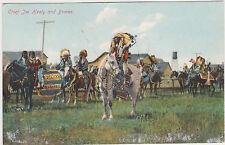 Chief Joe Healy,Blackfeet Indians,Native American,(First Nation),U.S-Canada,1907