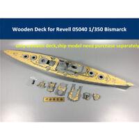 Wooden Deck for Revell 05040 1/350 Scale Battleship Bismarck