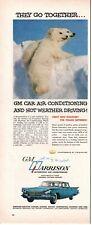 1959 ORIGINAL VINTAGE GM HARRISON AUTOMOTIVE AIR CONDITIONING MAGAZINE AD