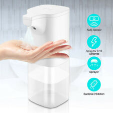 350ml Automatic Hand Wash Sprayer Touchless Alcohol Disinfectant Dispensers-