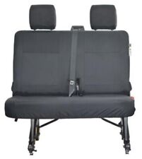 NEW GENUINE VW CADDY MAXI + LIFE 3RD ROW BLACK WATERPROOF SEAT COVERS SET