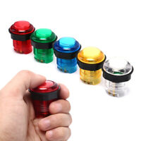 28mm LED Arcade Push Button Arcade Start Button Switch 5V Illuminated Button- TR