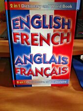 English French Dictionary Book