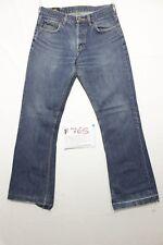 Lee denver bootcut ACCORCIATO (Cod.F765) Tg.46 W32 L34 boyfriend jeans usato