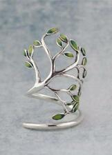 Enchanted Forest Tree Ring sterling silver adjustable fairy festival jewellery