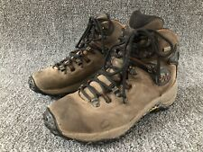 Merrell Chameleon Dry WP Dark Brown Leather Mid Hiking Boots Mens Size 7