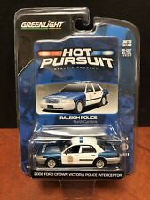 Greenlight Hot Pursuit Series 9 Raleigh Police Ford Interceptor Dela1176