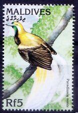 Maldives 1997 MNH, Birds, Lesser Bird-of-paradise (Paradisaea minor) -B32
