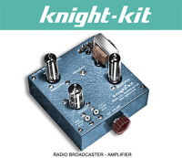 Allied Knight Kit Radio Broadcaster Amplifier Assembly Manual Schematics CD
