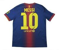 Barcelona 2012-13 Authentic Home Shirt Messi #10 (Excellent) XL Boys