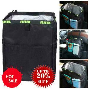 Car Waterproof Trash Bag Litter Bin Can Garbage Waste Storage Organizer Box 35cm