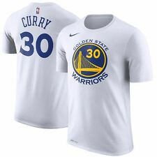 Stephen Curry Golden State Warriors Nike T-Shirt – White Size XL