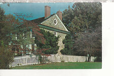 Washington's Headquarters  with Round Window   Valley Forge PA   Postcard 2227