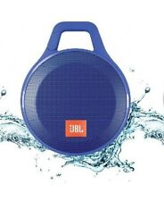JBL CLIP+ PLUS  Bluetooth Splashproof Speaker -Blue- Very good condition!
